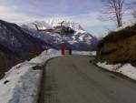 Piazzola di carico elicottero in località Combalino