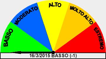 Pericolo incendi boschivi in Valsassina (in fase di test)
