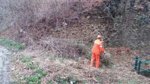 Pulizia valle Lembra - 02.04.2016