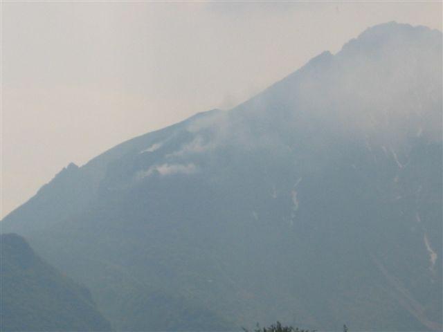 Incendio Grignetta 07.05.2006