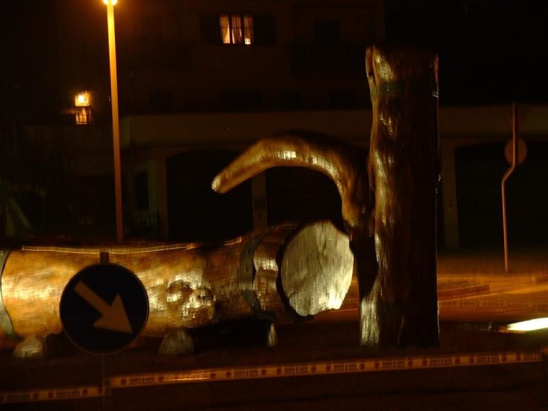 Fontana di notte 19.04.2003