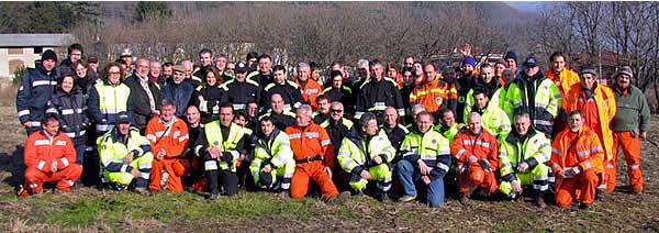 Esercitazione a.i.b.16.12.2007 parco del Curone